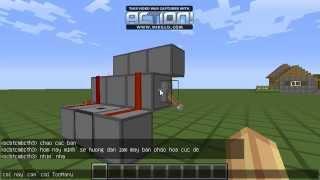 [Minecraft] Hướng Dẫn Làm Máy Bắn Pháo Hoa Cực Dễ