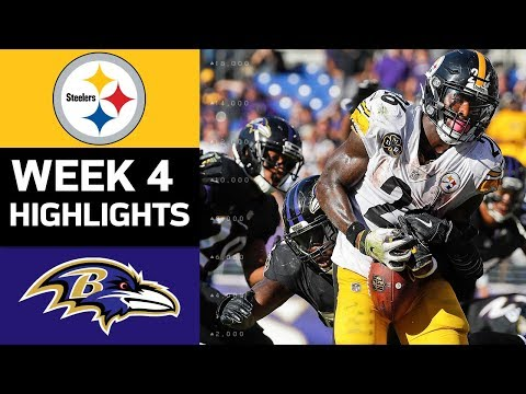Video: Steelers vs. Ravens | NFL Week 4 Game Highlights