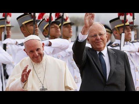 Papst Franziskus besucht katholische Bastion Peru