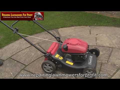 Repairing Lawnmowers For Profit Part 165 (Mountfield SV150 Part 1) (видео)