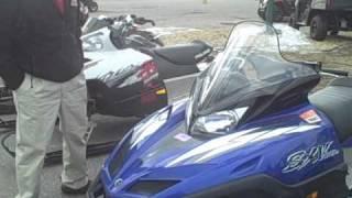 4. 2005 Yamaha Venom Snowmobile