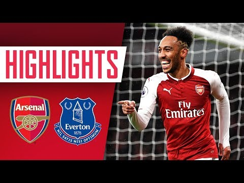 Aubameyang, Mkhitaryan & Ramsey On Fire! | Arsenal 5 - 1 Everton | Goals And Highlights