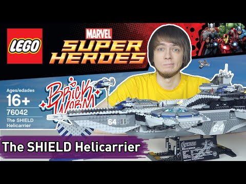 LEGO Marvel: The SHIELD Helicarrier (76042) - Brickworm