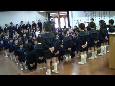 滝尾幼稚園卒園式H29.3.25