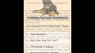 Training German Shepherds YouTube video