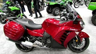 7. 2014 Kawasaki Concours 14 ABS Walkaround - 2013 New York Motorcycle Show