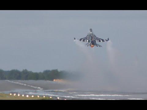 Вот так взлетает Ф-16