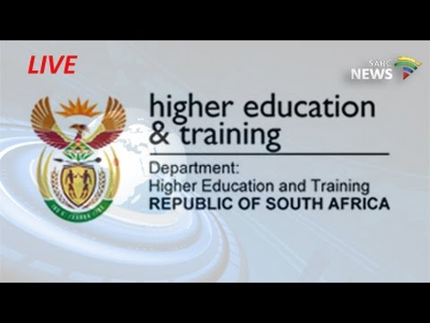 Media Briefing on Higher Education and Training sector's state of readiness