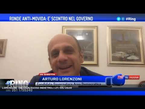 LORENZONI: «NESSUN PASSO INDIETRO»   27/05/2020