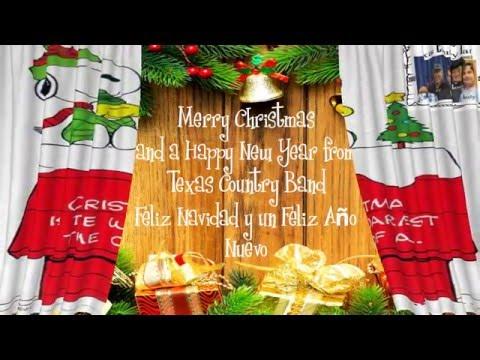 TCB Louis Gomez and Texas Wheels Feliz Navidad Merry Christmas and a Happy New Year!