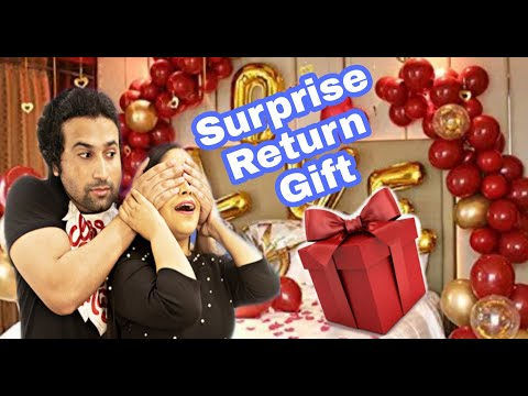 SHOCKING😱RETURN GIFT🎁UNEXPECTED😯HUGE SUPRISE FOR BEST WIFE 🥰🥰Mr. And Mrs. Prince