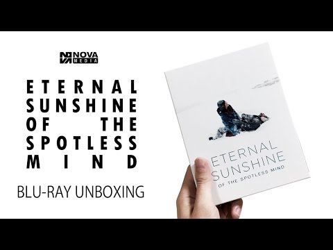Eternal Sunshine Of The Spotless Mind Blu-ray Unboxing [Nova Exclusive #A15]