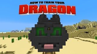 Minecraft - HOW TO TRAIN YOUR DRAGON - Toothless Air Balloon [38]