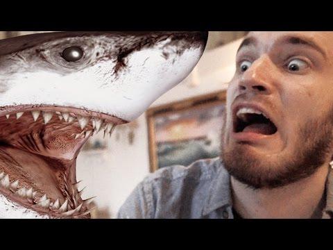 GIANT FLYING SHARK?! (5 Weird Stuff Online - Part 01) (видео)