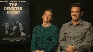 Video Dave Franco shows James Franco how to play the really strange game of FINGERS! MP3, 3GP, MP4, WEBM, AVI, FLV Oktober 2018