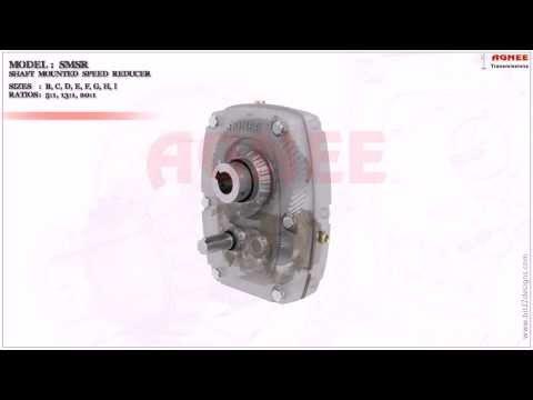 SMSR - Shaft Mounted Speed Reducer, SMSR Gearbox