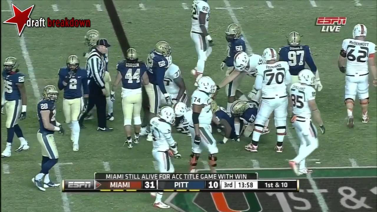 Aaron Donald vs Miami (2013)