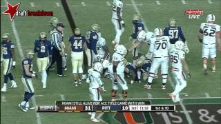 Aaron Donald vs Miami (2013)