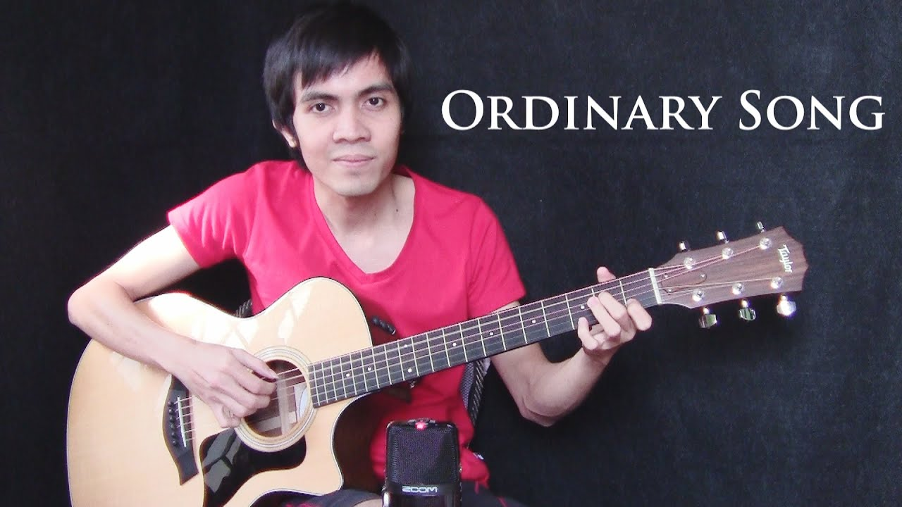 Ordinary Song – Marc Velasco (fingerstyle guitar cover)