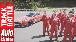 Fighter pilots vs Aston Martin: can the Red Arrows tame a supercar? by Auto Express