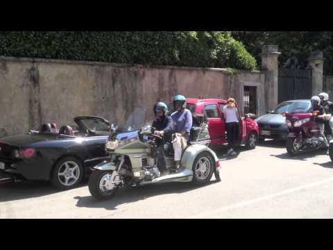 "L'ultimo saluto dei motociclisti a Maurizio ""Ronni"" Bonada"