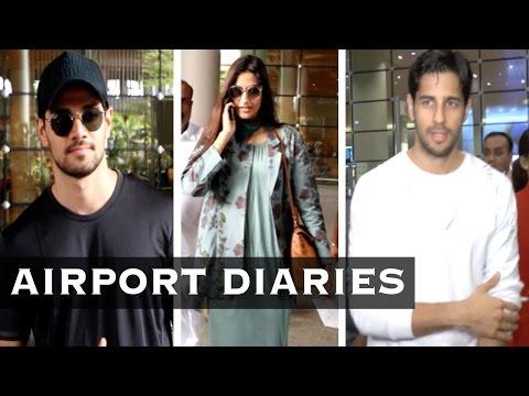 Airport Diaries: Sonam Kapoor, Sooraj Pancholi, Si