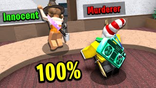 Murder Mystery 2 but I'm murderer all the time..