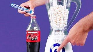 Video Blender VS Coca Cola and Mentos | 16 Awesome Experiments MP3, 3GP, MP4, WEBM, AVI, FLV Maret 2019