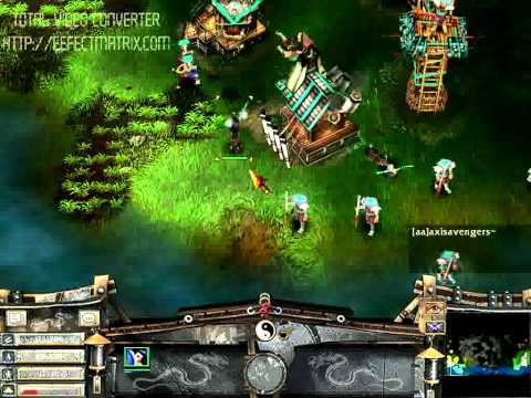 Battle Realms - Ben vs [VN]Gold Dragon Game 2