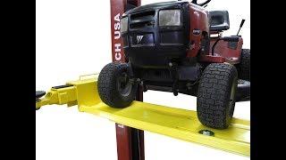 10. Two Post Lift Lawn Mower UTV Golf Kart Adapter