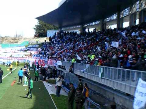 LOS DEL SUR PUERTO MONTT v.s CATOLICA COPA CHILE 2010 TERCER GOL - Los del Sur - Deportes Puerto Montt