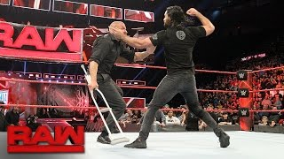 Nonton Seth Rollins Attacks Triple H  Raw  March 13  2017 Film Subtitle Indonesia Streaming Movie Download