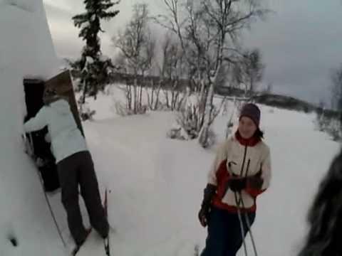 Cross Country Skiing, Hundorp, Norway, 21 Dec 2008