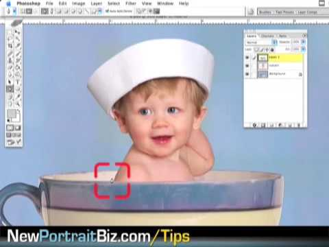 Beginners Photography Photoshop Tutorials – Digital Props