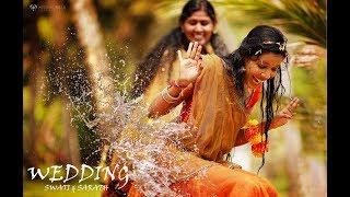 kerala hindu haldi wedding highlights covered by weddin bells photography.