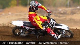 10. MotoUSA 2013 Husqvarna TC250R Motocross Shootout