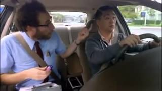 The Amazing racist is at it again, this time with the Asian driving school.