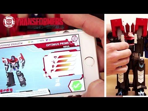 Transformers: dai giocattoli che si trasformano all'applicazione gioco!