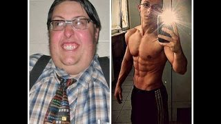 Best body transformation best chubby fat to fit muscular body transformation 2016
