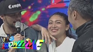 It's Showtime: Nadine's no make-up look surprises madlang people