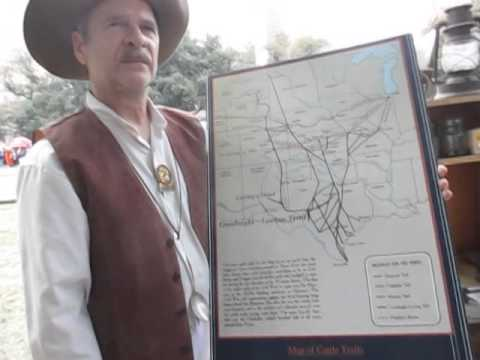 1870 Cattle Driver explains the life of the cowboys
