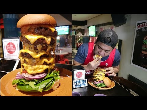 2 Kg Australia Burger Challenge | Makan Burger Di Aussie