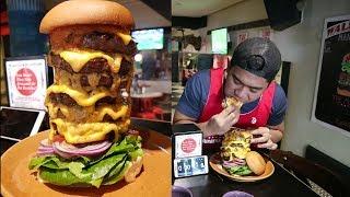 Video 2 kg Australia Burger Challenge | Makan Burger Di Aussie MP3, 3GP, MP4, WEBM, AVI, FLV Desember 2017