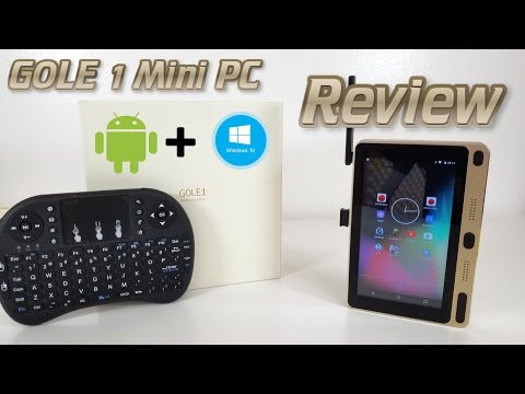 GOLE GOLE1 Mini PC REVIEW - Android & Windows 10, 4GB RAM, Intel Z8300, 5
