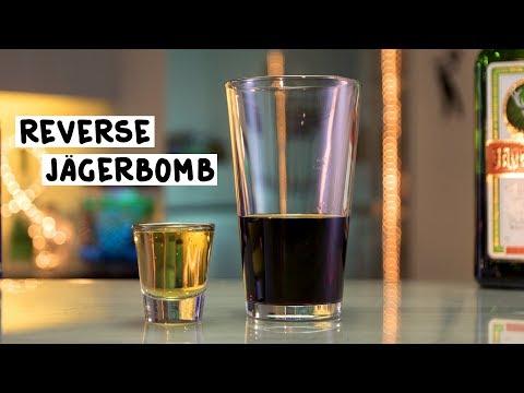 Reverse Jägerbomb - Tipsy Bartender