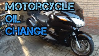 7. How to Change Motorcycle Oil (ST1300)