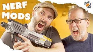 Video Modding and Painting a Nerf Blaster with Evil Ted Smith MP3, 3GP, MP4, WEBM, AVI, FLV Oktober 2017