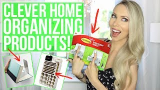 Sharing some cool, clever and useful home organizing products all found on Amazon! Thumbs up if you want me to make this a series! CLICK FOR LINKS AND INFO ☟ ☟ ☟ ♡ S O C I A L M E D I A ♡ Follow me for cute Carter photos! INSTAGRAM:  http://instagram.com/vasseurbeauty TWITTER:  https://twitter.com/vasseurbeauty♡ M Y  P R O D U C T S ♡ I have a line of premium, all-natural body care products safe for pregnant & breastfeeding women and babies! Buy my body care bundle - body lotion, body wash and body oil - and save 25%! Free shipping in USA, ships internationally. https://vasseurskincare.com/collections/body-care/products/vasseur-beauty-kit♡ I N F O ♡*I try to link what I can, if you have any other questions ask me in the comments!GIVEAWAY ♡ To be entered to win the set of drawer organizers you just need to be subscribed to my channel and leave a comment letting me know which of the products shown was your favorite. Giveaway is international and the winner will be selected on 7/9/17 and announced here! WINNER is Kat H !!⇒ Battery organizer http://amzn.to/2t84StK ⇒ Broom / mop hanging hooks http://amzn.to/2u2XbBU ⇒ Outdoor end table http://amzn.to/2sEujSt ⇒ Outdoor storage seat http://amzn.to/2u2BphE ⇒ Outdoor storage coffee table http://amzn.to/2t8lm52 ⇒ Hot tools organizer http://amzn.to/2u2EEWh ⇒ Cord hider http://amzn.to/2t91kb4 ⇒ Over the door closet rack http://amzn.to/2tIftsN ⇒ Hidden book shelf http://amzn.to/2s4Iodf ⇒ Key rack and organizer http://amzn.to/2rPS1Io ⇒ Sink caddy http://amzn.to/2rPgQV6 ⇒ Drawer organizers http://amzn.to/2t8YvGD ⇒ Toy organizer http://amzn.to/2u2Gk1O ⇒ 3 basket hamper on wheels http://amzn.to/2tIqSZv Watch next: AMAZON SECRETS, TIPS AND HACKS TO SAVE MONEY! ⇒ https://www.youtube.com/watch?v=q2Y_DKxegNMLet me know if you want me to make this a series! I can do other categories like cool kitchen gadgets or cleaning products etc. !! Thumbs up or comment if that's something you want me to do :)♡ A B O U T  M E  ♡Hi + welcome!! My name 