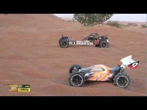 hobao - Hobao HYPER 9e 6 cell Vs. Hpi BAJA SS 29cc.