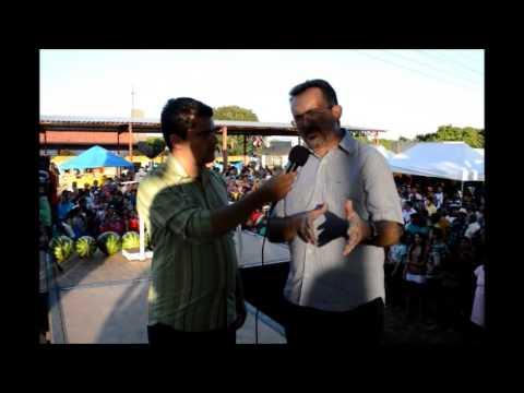 Deputado estadual António Félix na festa da melancia em Jatobá